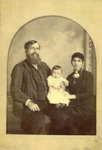 1884 Wm Ryland, Hannah, Frank Ryland