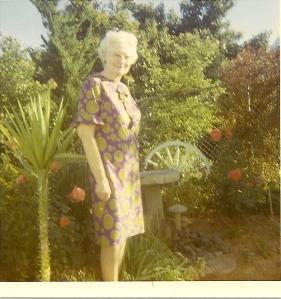 1960s Rae in Garden