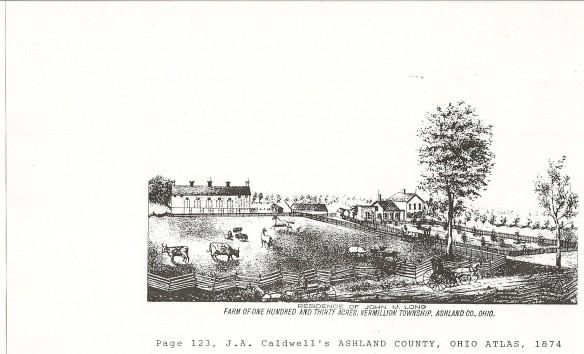 Ashland Co Farm, 1874