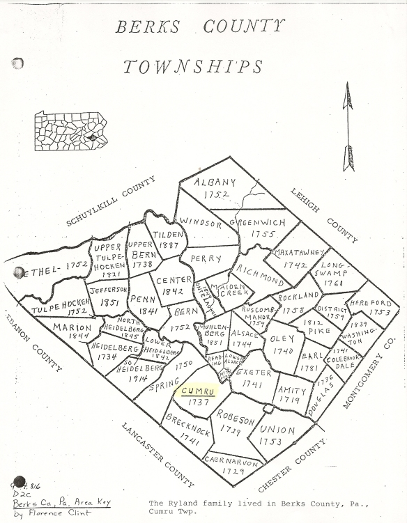 Berks Co Townships