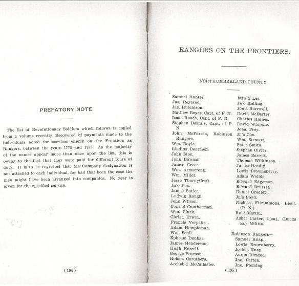 James Ryland Ranger PA Archives 2